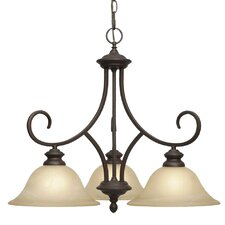 Lancaster 3 Light Nook Chandelier