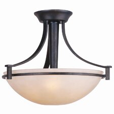 Hampden 3 Light Semi-Flush Mount