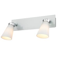 <strong>Golden Lighting</strong> Opera 2 Light Bath Vanity Light