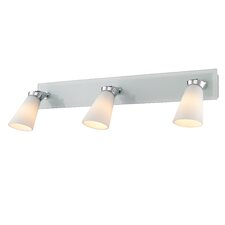 <strong>Golden Lighting</strong> Opera 3 Light Bath Vanity Light