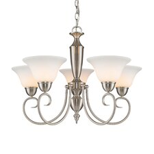 <strong>Golden Lighting</strong> Centennial 5 Light Chandelier