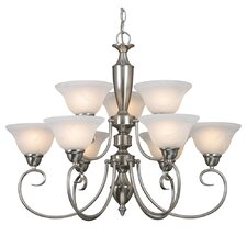 Centennial 9 Light Chandelier