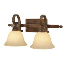 Rockefeller 2 Light Bath Vanity Light