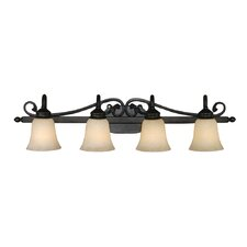 Belle Meade 4 Light Bath Vanity Light