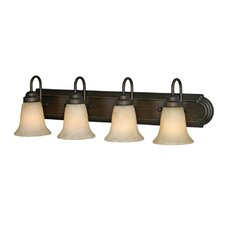 Brookfield 4 Light Bath Vanity Light