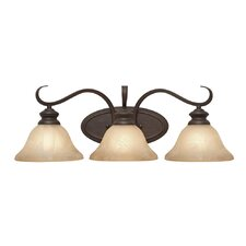 Lancaster 3 Light Bath Vanity Light