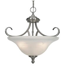 Lancaster 3 Lights Convertible Inverted Pendant