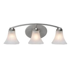Accurian 3 Light Bath Vanity Light