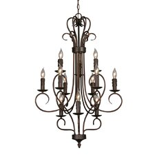Centennial 12 Light Chandelier