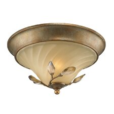 Beau Jardin 2 Light Flush Mount