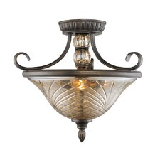 Alston Place Convertible Semi-Flush Mount