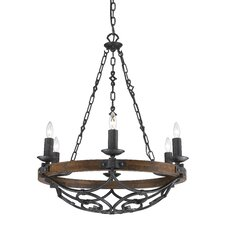 Madera 6 Light Chandelier