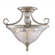 Alston Place 3 Light Semi-Flush Mount