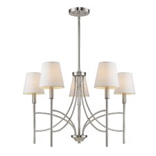 <strong>Golden Lighting</strong> Taylor 5 Light Chandelier