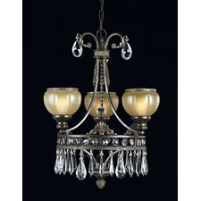 <strong>Triarch Lighting</strong> Le Grandeur 3 Light  Chandelier