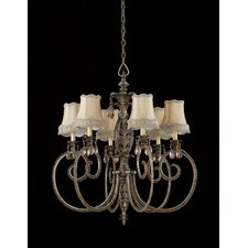 <strong>Triarch Lighting</strong> Mardis Gras 6 Light Chandelier