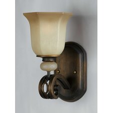 <strong>Triarch Lighting</strong> Ironstone 1 Light Wall Sconce