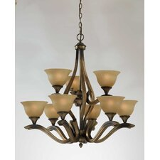 <strong>Triarch Lighting</strong> Value Series 230 9 Light Chandelier