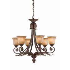 <strong>Triarch Lighting</strong> Vienna 6 Light Chandelier