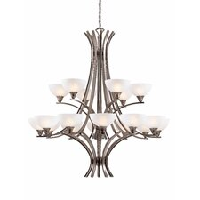 <strong>Triarch Lighting</strong> Luxor 18 Light Chandelier