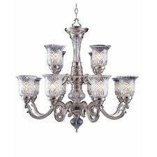 Regency 12 Light Chandelier