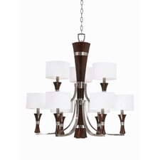 <strong>Triarch Lighting</strong> Brady 9 Light Chandelier