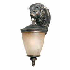 Lion Exterior 1 Light Wall Lantern