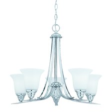 Value Series 5 Light Chandelier