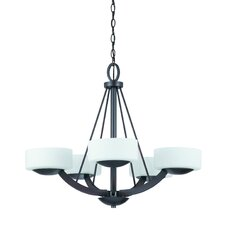 <strong>Triarch Lighting</strong> Viking 5 Light Chandelier