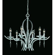 <strong>Triarch Lighting</strong> Allure 6 Light Chandelier
