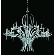 <strong>Triarch Lighting</strong> Allure 24 Light Entry Chandelier