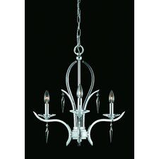 <strong>Triarch Lighting</strong> Allure 3 Light Mini Chandelier