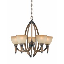 <strong>Triarch Lighting</strong> Olympian 5 Light Chandelier