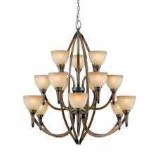 Olympian 15 Light Chandelier