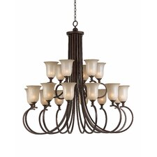 <strong>Triarch Lighting</strong> La Costa 18 Light Entry Chandelier