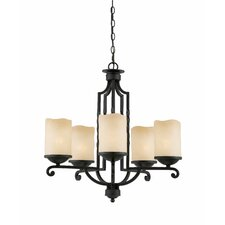 <strong>Triarch Lighting</strong> Granada 5 Light Chandelier