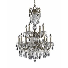 <strong>Triarch Lighting</strong> Renaissance 12 Light Chandelier
