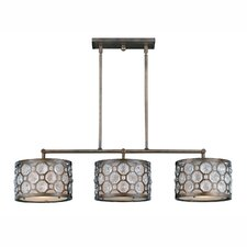 <strong>Triarch Lighting</strong> Cartier 3 Light Kitchen Island Pendant