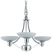 <strong>Triarch Lighting</strong> Halogen VII 3 Light Chandelier