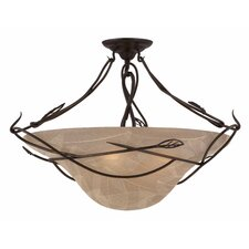 <strong>Triarch Lighting</strong> Whisper Semi Flush Mount