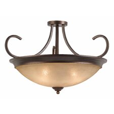 <strong>Triarch Lighting</strong> La Costa 4 Light Semi Flush Mount