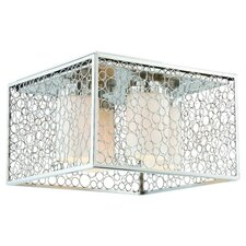 Contempo 4 Light Flush Mount