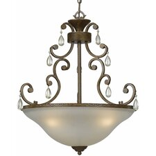 Value Series 190 3 Light Inverted Pendant