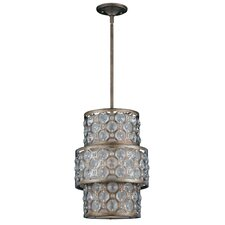 Cartier 6 Light Drum Foyer Pendant