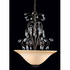 Primavera 3 Light Inverted Pendant