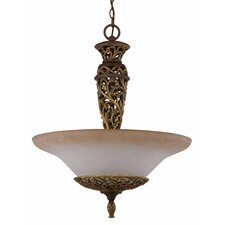 <strong>Triarch Lighting</strong> Filigree 3 Light Inverted Pendant