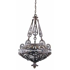 Grand 3 Light Inverted Pendant