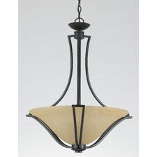 Greco 2 Light Inverted Pendant