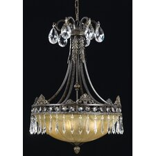 Le Grandeur 5 Light Inverted Pendant