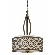 Orion 3 Light Drum Foyer Pendant